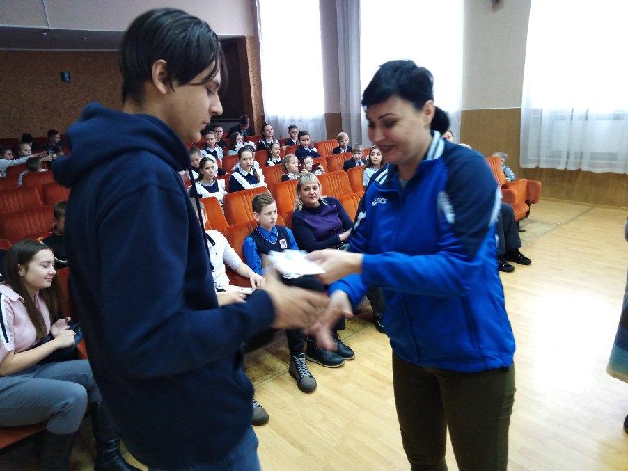 11 декабря – вручение значков ГТО студентам техникума