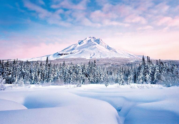 Зимние пейзажи - видеорелакс
