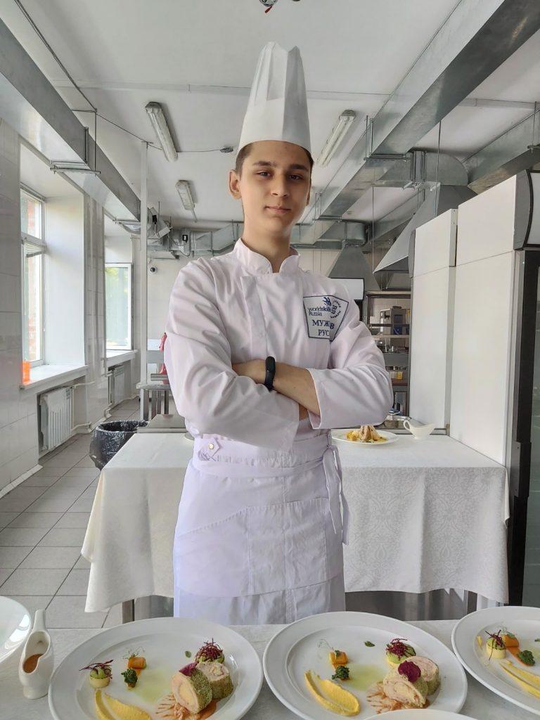Мужунов Руслан, студент 3 курса , группа СПК-18/1