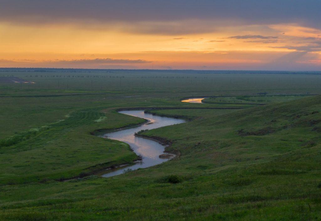 Природа Ставропольского края. Река Айгурка