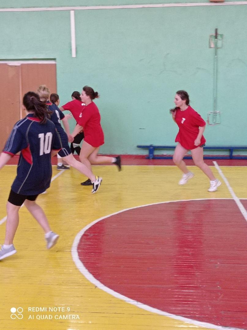 Городская Спартакиада СПО по баскетболум