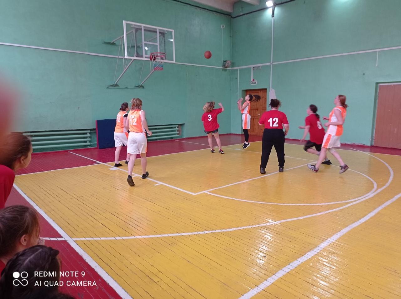 Городская Спартакиада СПО по баскетболу